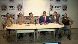 Polícia prende sete homens acusados de envolvimento em assalto a carro-forte