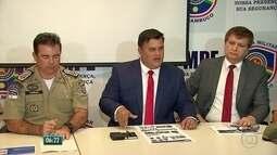 Suspeitos de assalto a carro-forte são presos