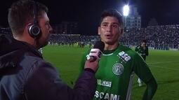 """""""A gente veio com intuito de vencer, mas infelizmente não conseguimos"""" diz Felipe Pará"""
