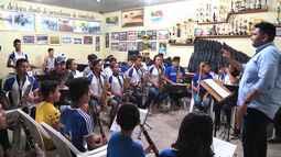 Bandas escolares revelam talentos da música em Santarém