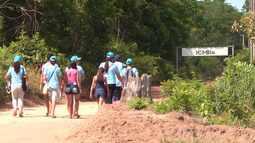 Alunos do Colégio Santa Clara participam de jornada missionária na Flona Tapajós
