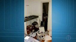 Suspeitos invadem laboratório veterinário,quebram equipamentos e inundam salas em Friburgo