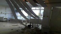 Parte de teto do Hospital da Clínicas desaba e assusta pacientes