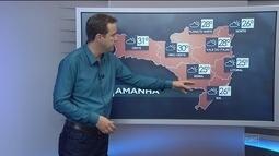 Confira a previsão do tempo para Santa Catarina nesta terça-feira (19)