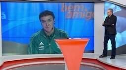 Cuca fala sobre gol de braço do Jô e se mostra favorável ao árbitro de vídeo