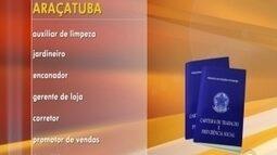 Rio Preto e Araçatuba oferecem oportunidades de emprego