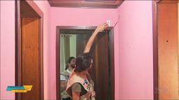 Técnicos da UFPR analisam rachaduras encontradas depois de tremores de terra na RMC