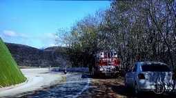 Combate a incêndio em Petrópolis dura mais de 20h; fogo se aproxima de área de preservação