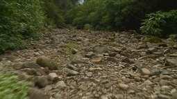Estiagem afeta nível dos rios e abastecimento de água em SC