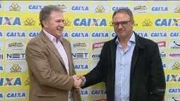 Criciúma apresenta Beto Campo como novo treinador para sequência da Série B