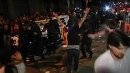Prisões de separatistas catalães geram protestos na Espanha