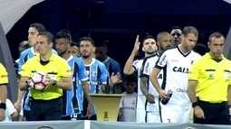 Redação divide Grêmio x Botafogo em três atos