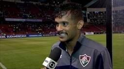 """Gustavo Scarpa se diz """"honrado"""" de disputar Fla-Flu na Sul-Americana"""