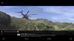 Comandante-geral da PM recebe o Exército na base da UPP da Rocinha