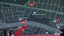 Aplicativo mostra lugares no Rio de Janeiro onde há tiroteios