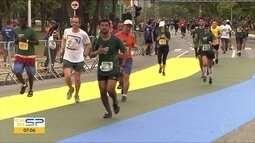 Pelo menos 16 mil pessoas participaram de corridas na capital