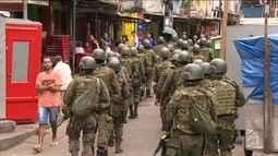 No quarto dia de cerco do exército, moradores da Rocinha tiveram mais tranquilidade