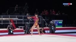 Mai Murakami ganha 14.233 e é campeã no solo pelo Mundial de Ginástica