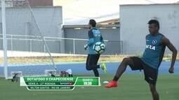 Botafogo treina duro para pegar Chape na volta do Brasileiro