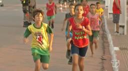 Minimaratona reúne dezenas de crianças no Dia das Crianças em Santarém