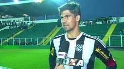 """Leandro Almeida sobre o jogo duro com o Santa Cruz: """"Não precisava passar por isso"""""""