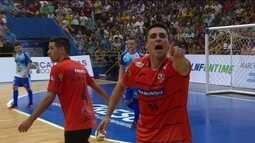 Os gols de Foz Cataratas 1 x 1 Carlos Barbosa pela Liga Nacional de Futsal