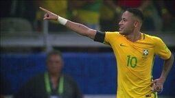 Neymar pode se tornar o maior goleador da história da seleção brasileira