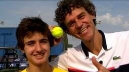 Semana Guga Kuerten promove o tênis para mais de 1.000 crianças e encontro especial de fã