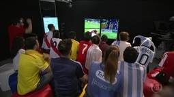 Torcedores vivem o drama da rodada de decisões das Eliminatórias da Copa na América do Sul