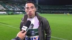 """Rildo lamenta derrota para o Grêmio: """"Foi um castigo esse gol no final"""""""