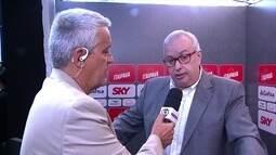 Roberto de Andrade fala da nova regra de jogadores do Campeonato Paulista