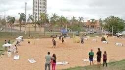Cuiabá recebe etapa infanto juvenil de vôlei de praia; duplas de MT faturam medalhas