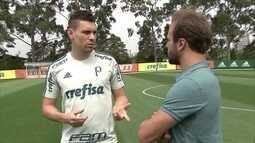 Moisés lembra triunfo sobre Roger pelo América-MG e avalia trajetória no Palmeiras