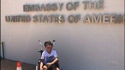 Família de Kaká consegue visto para viajar para menino fazer cirurgia nos EUA