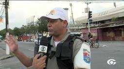 Polícia reforça segurança para os jogos de CSA e CRB