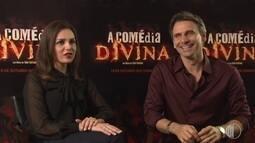 Murilo Rosa e Monica Iozzi falam sobre filme 'A Comédia Divina'