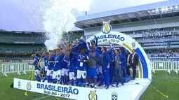 Time Sub-20 do Cruzeiro vence campeonato da categoria nesta sexta-feira, dia 20