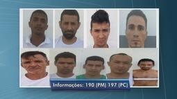 Sejuc pede apoio da população para identificar e prender foragidos da Pamc