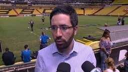 Diretor do Grêmio elogia adoção de árbitros de vídeo na reta final da Libertadores
