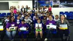 Escolas de Pato Branco recebem prêmio do Televisando