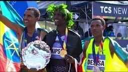 Maratona de Nova York, segurança é reforçada e queniano Wilson Kipseng comenta corrida
