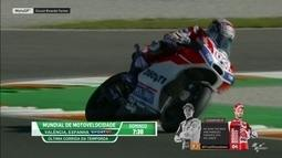 Marc Márquez e Andrea Dovizioso disputam título da MotoGP em Valencia