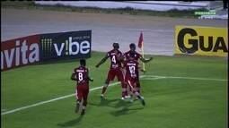 Os melhores momentos de CRB 2x1 Goiás no Rei Pelé