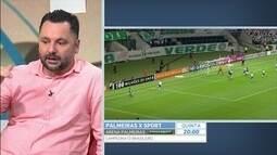 """Jornalista diz que Palmeiras não deve manter Valentim em 2018: """"Exemplo Eduardo Baptista"""""""