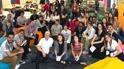 Laboratório de ideias reuniu 20 jovens na redação do Profissão Repórter