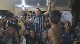 Torcedores do Corinthians em Roraima se reúnem para assistir o 'jogo do título' brasileiro