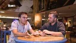 Reveja: Mário bate-papo com chef Luciano Macri e conhece culinária mediterrânea