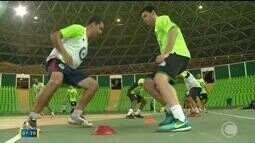 Time do JES enfrenta o Horizonte-CE pela Liga Nordeste de futsal no Ginásio Verdão