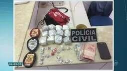 Três pessoas foram presas com grande quantidade de drogas em Crateús