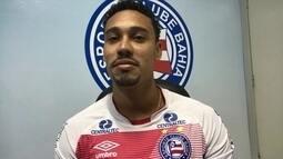 Edigar Junio diz que cartório falhou no nome, e sonha com Bahia na Libertadores